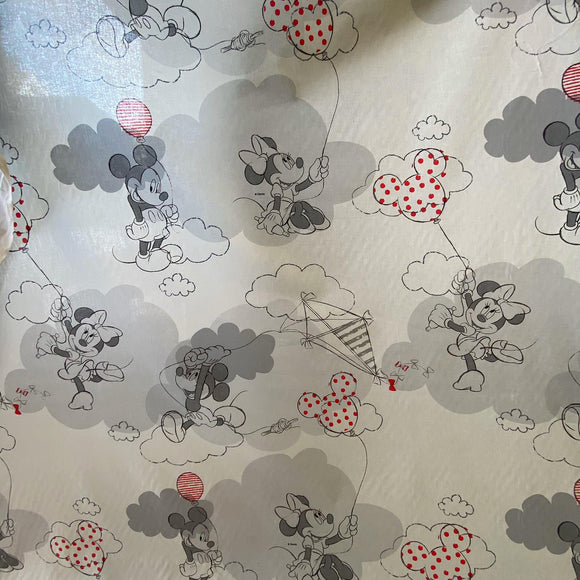 Large Mickey Mouse Heavy Cotton - Sold by Half Metre