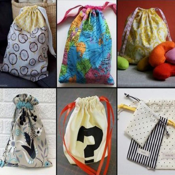 Children's Drawstring Bag Workshop - Summer Holidays