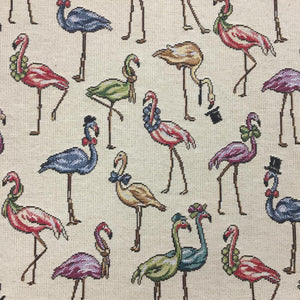 Tapestry - Flamingos - Sold by Half Metre