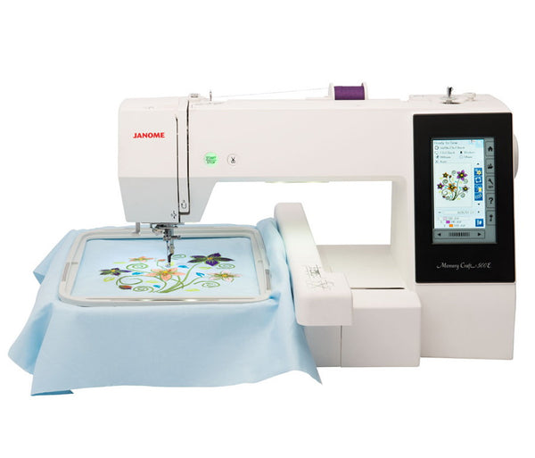 EMBROIDERY MACHINE - MEMORY CRAFT 500E