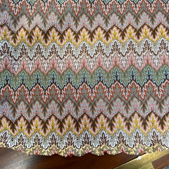 Pastel Colours Knitted Jersey - Sold By Half Metre