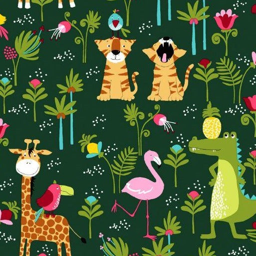Cotton Jersey - Roarr - Sold By Half Metre
