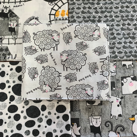 100% Cotton Fat Quarters - Farm