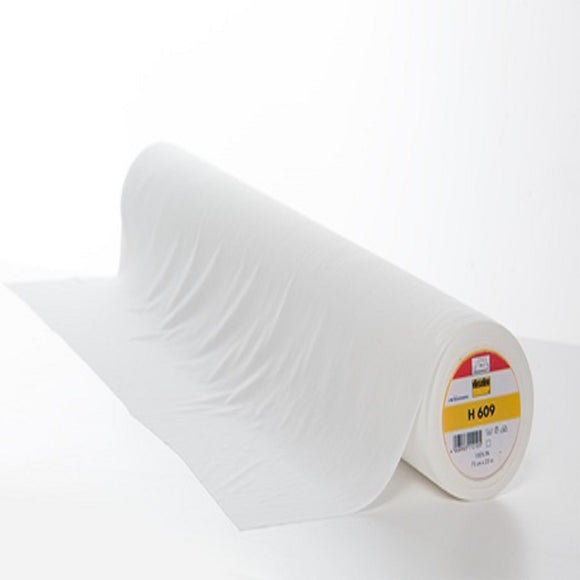 Vilene Stretch Fusible Interlining - H609 - Sold by Half Metre