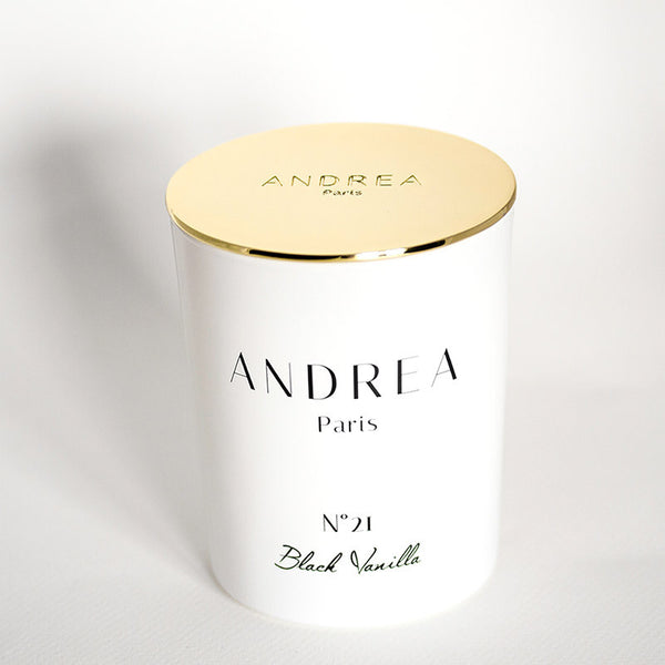 N°21 Black Vanilla Or - Andrea Paris