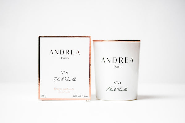 N°21 Black Vanilla Rose Gold - Andrea Paris