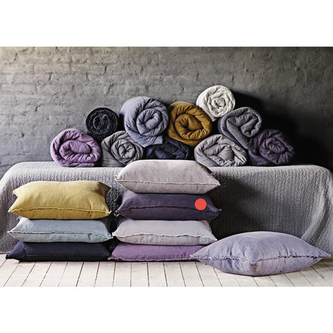 Scandinavian linen pillow collection
