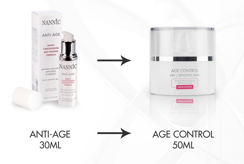 Anti-Age is vanaf nu Age Control!