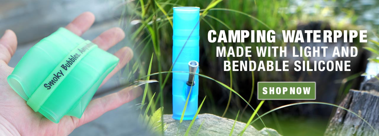 Camping Ready Silicone Waterpipes