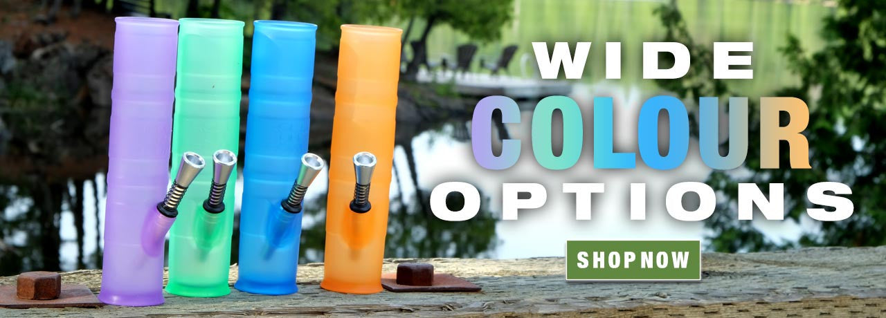 Wide Colour Options on Water Pipes