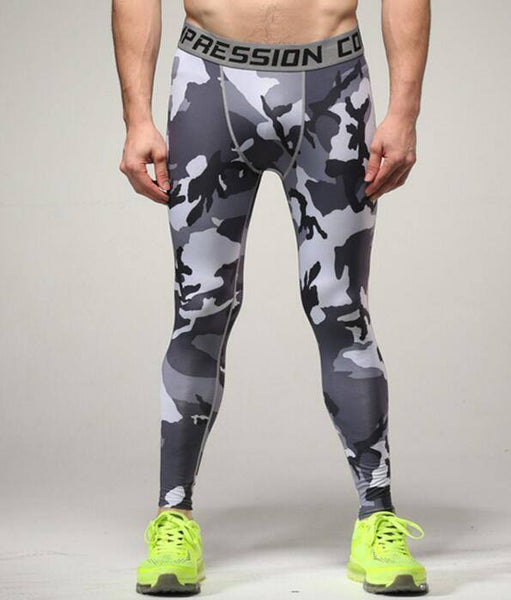 Compression Pants - Camo Compression Pants