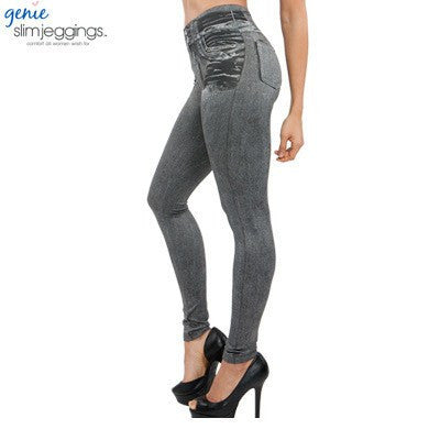 Leggings - Jeans-Leggings Leggings Im Jeans Look (3)
