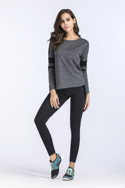 Leggings - Schwarze Push Up Leggings