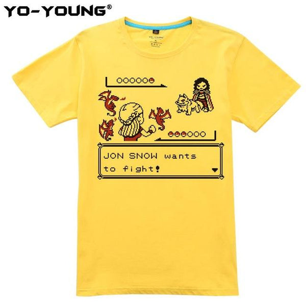 Shirts - Unisex Shirt - Game Of Thrones Feat. Pokemon