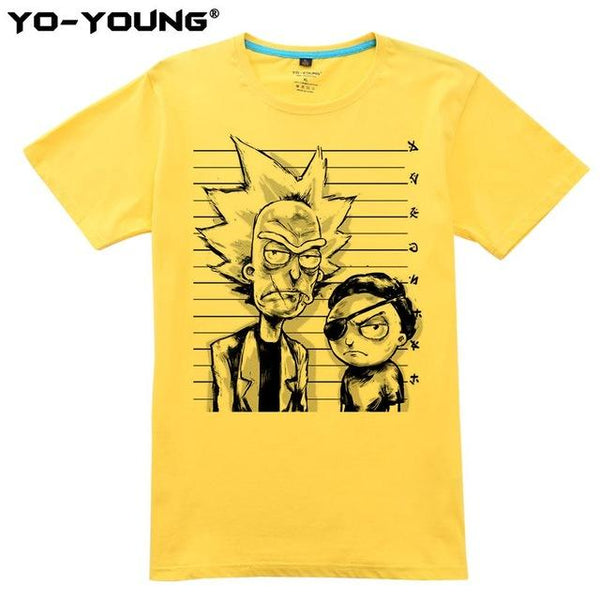 Shirts - Unisex Shirt - Rick And Morty Feat. Evil Morty