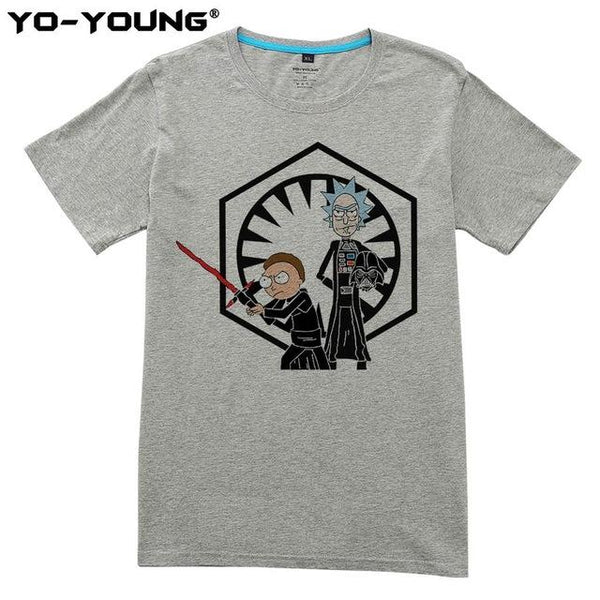 Shirts - Unisex Shirt - Rick And Morty Feat. Star Wars