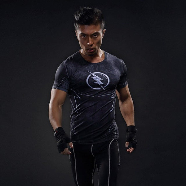 Superheld - 2017 Superhelden 3D Compression Shirt (9)