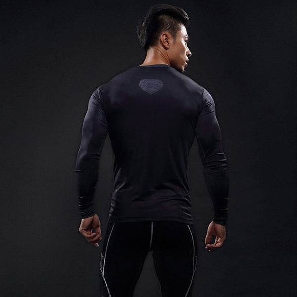 Superheld - 2017 Superhelden Langärmliges 3D Compression Shirt (10)