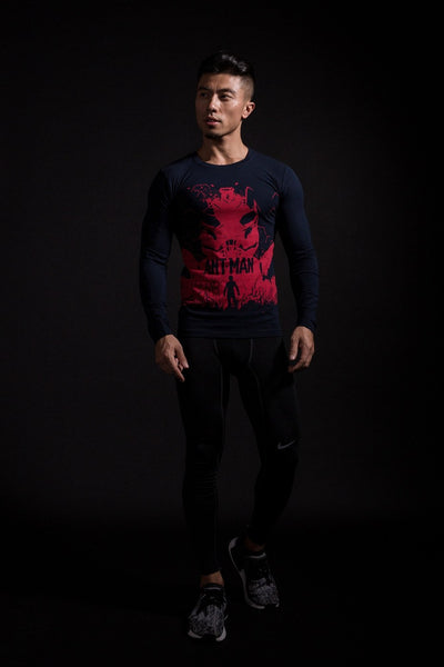 Ant Man² Langärmliges 3D Compression Shirt - Einfach Knorke!