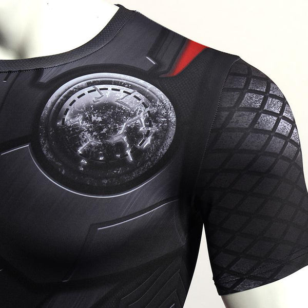 Superheld - Avengers 3 Thor 3D Compression Shirt