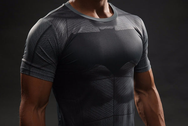 Batman VS Superman 3D Compression Shirt - Einfach Knorke!