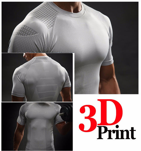 Captain America² 3D Compression Shirt - Einfach Knorke!