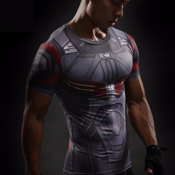 Falcon 3D Compression Shirt - Einfach Knorke!