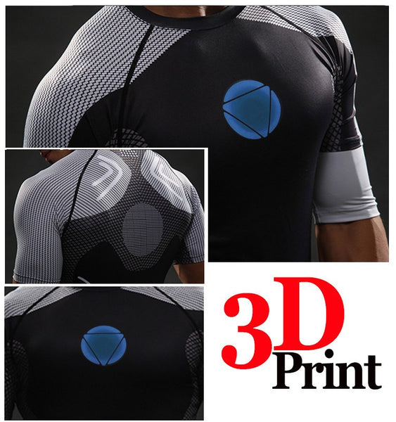 Iron Man² 3D Compression Shirt (2)