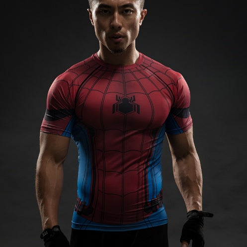 Spider-Man 3D Compression Shirt - Einfach Knorke!