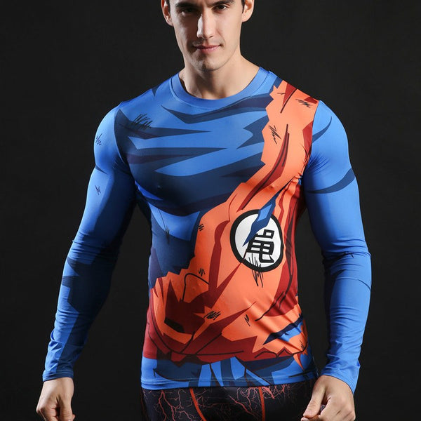 Superheld - Superhelden Langärmlige 3D Compression Shirts (17)