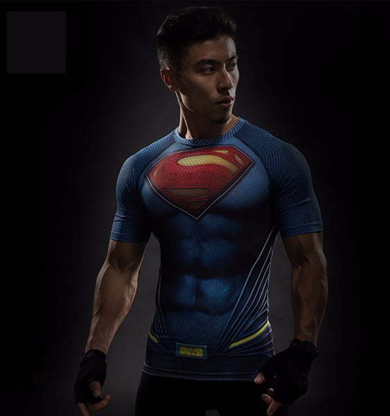 Superman 3D Compression Shirt - Einfach Knorke!