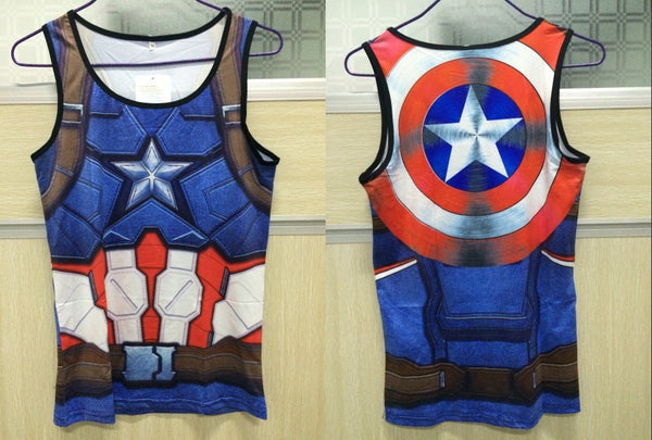 Tank Tops - Superhelden Tank Tops (8)