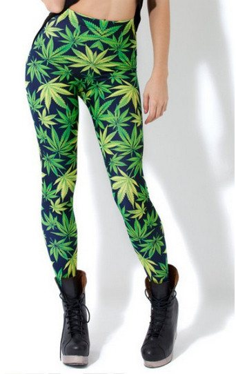 Weed Leggings - Style Leggings