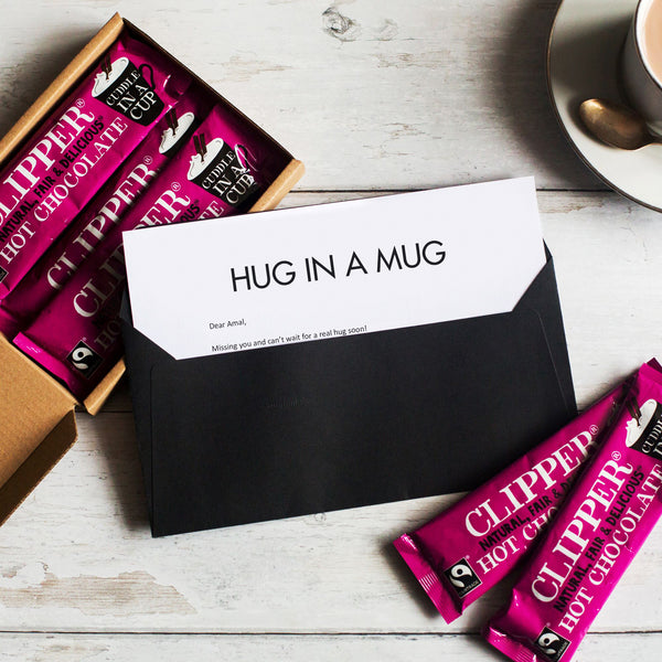 Hot Chocolate Gift in Letterbox Friendly Packaging