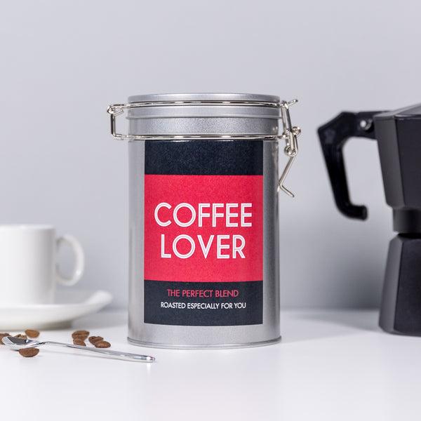 Personalised 'A Latte Love' Coffee Gift In Tin