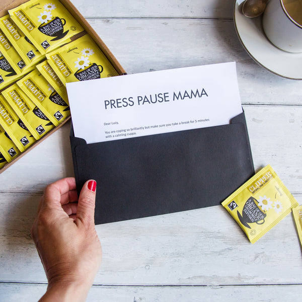 'Press Pause' Wellbeing Tea Gift