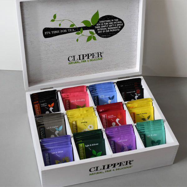 tea lovers gift box with teas included