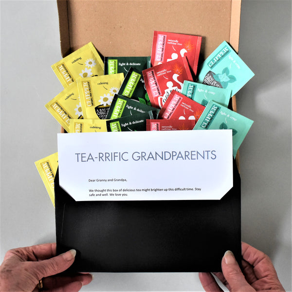 Tea Selection Gift Box in Letterbox friendly packaging