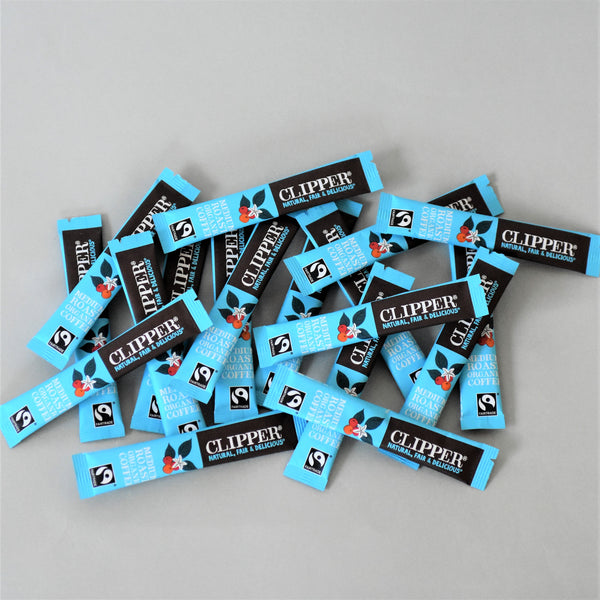 Clipper Fairtrade Instant Coffee Sticks x 18 - Letterbox Friendly