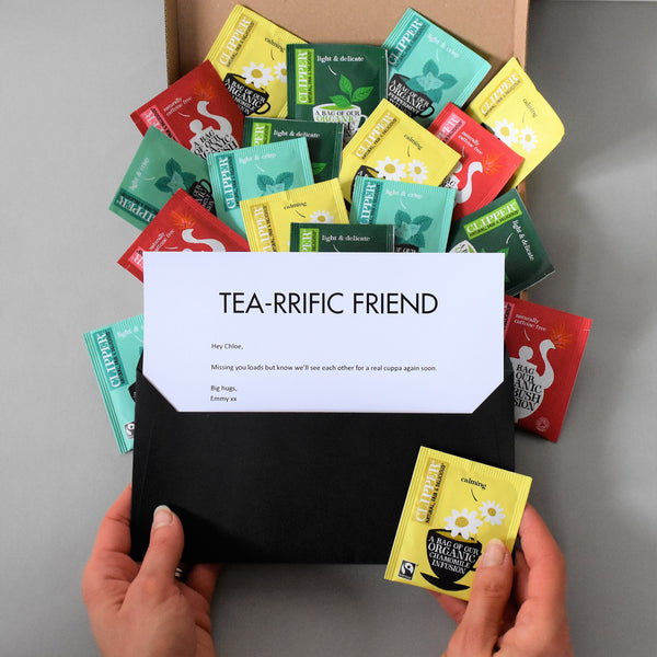 Corporate Tea Gift in Letterbox friendly packaging