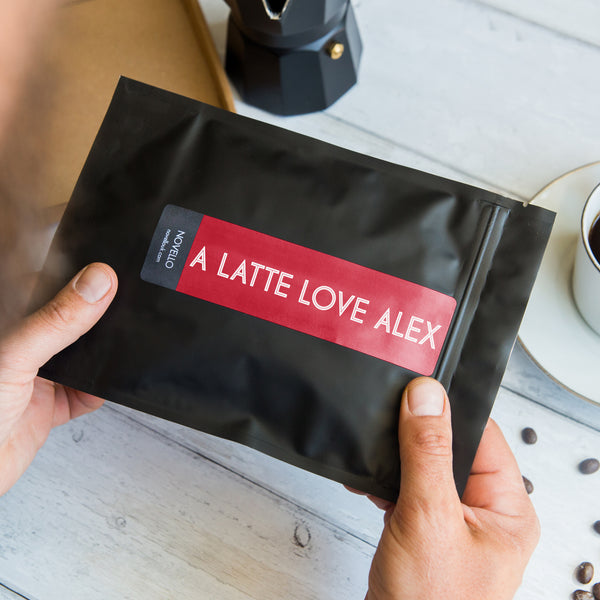 Personalised Valentines Day Coffee Gift