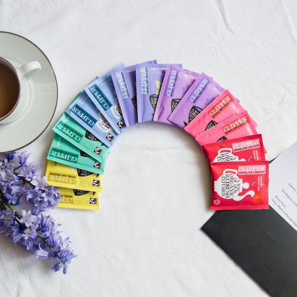 Rainbow of Tea Personalised Gift Set