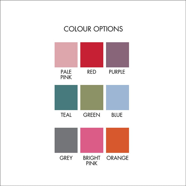tea label colour options
