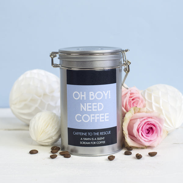 New Parents Personalised Coffee Gift Tin