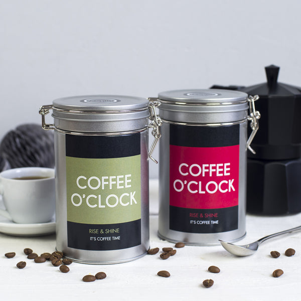 coffee gift tin novello