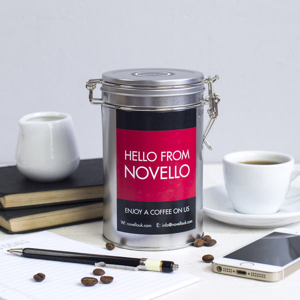 bespoke corporate gifts coffee tea novello