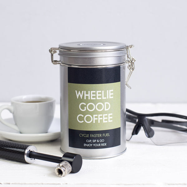 cyclists gift coffee novello