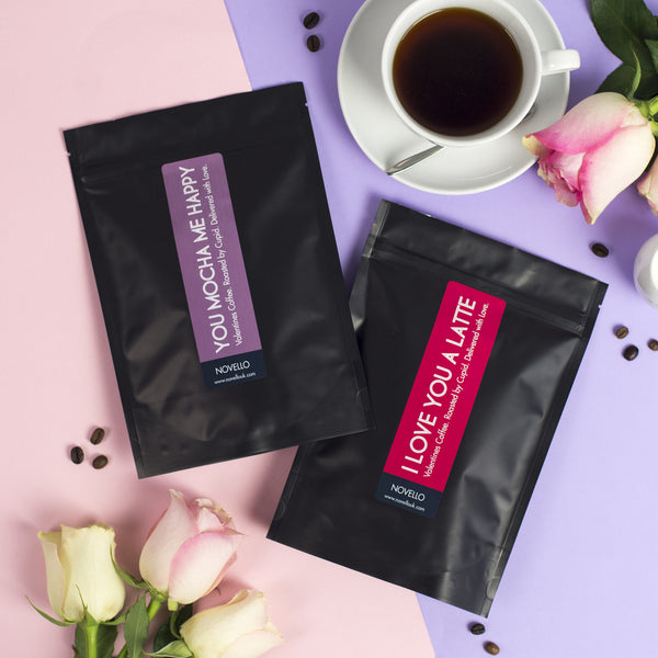 valentines day coffee gift novello