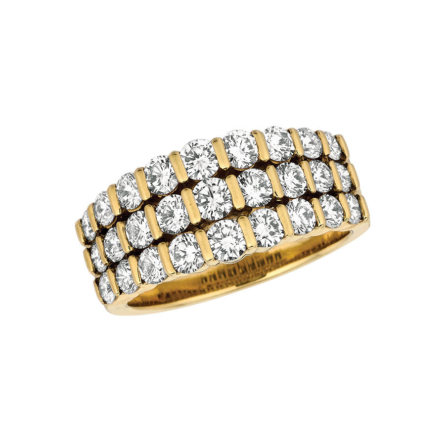 #ALACARTEBRIDAL GK YELLOW GOLD AND DIAMOND WOMEN'S RING - GERARDRIVERON