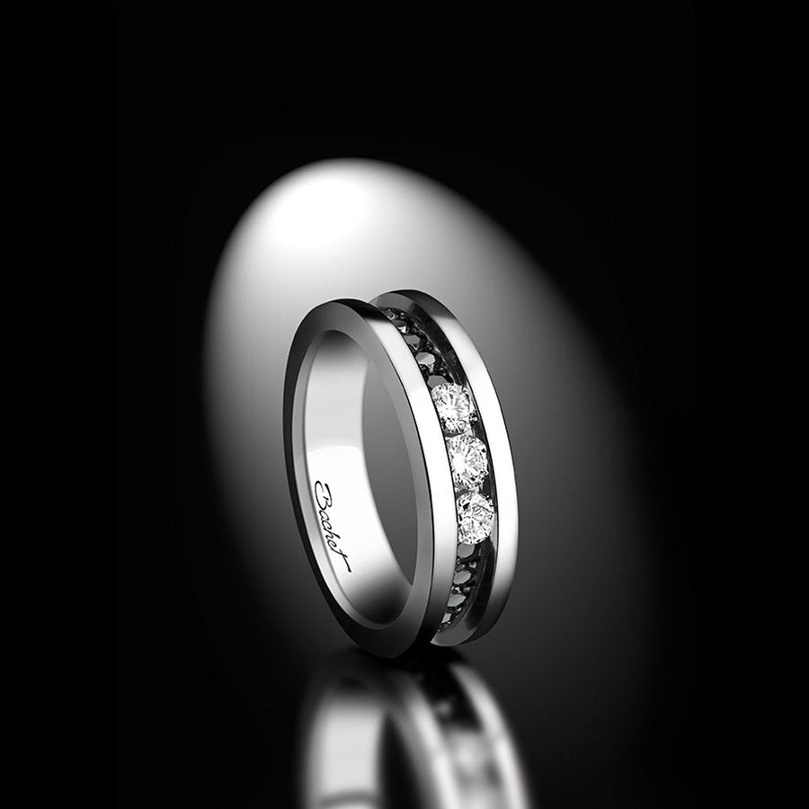 "Women's Collection Ring ""Trilogy' Medium - GERARDRIVERON"